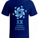 Modelo Camiseta XX Semana da Biologia